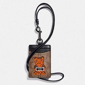 🆕 Coach Limited Edition Vandal Gummy Lanyard
